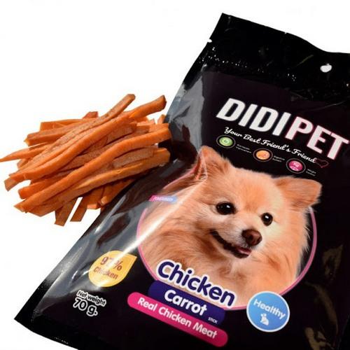 غذای تشویقی سگ دی دی پت پامرانین وزن 45 گرم
