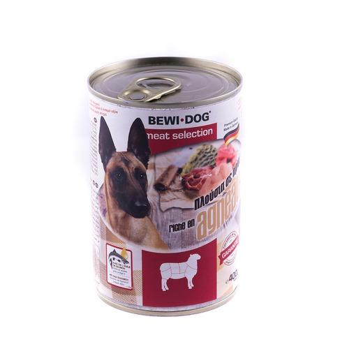کنسرو سگ بالغ با طعم گوشت بره