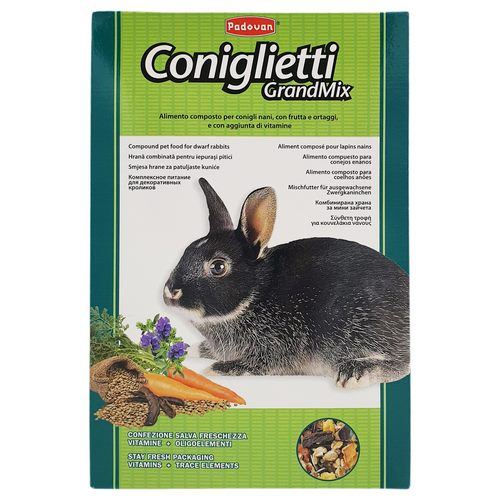 غذای پادوان خرگوش