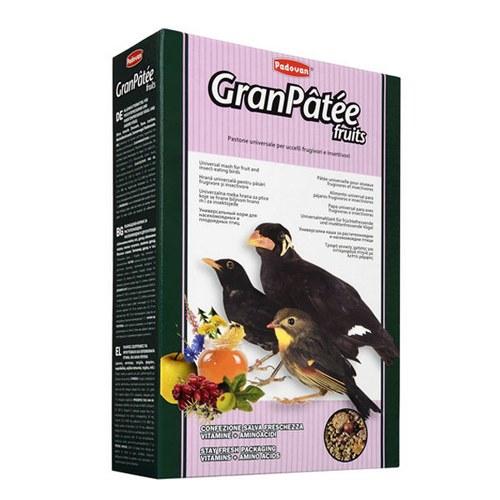 غذای مرغ مینا مدل gran patee fruits